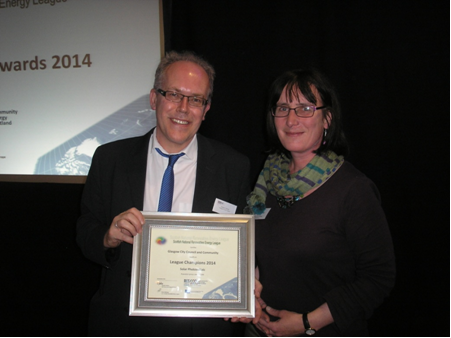 National Renewable Energy League Awards 2014